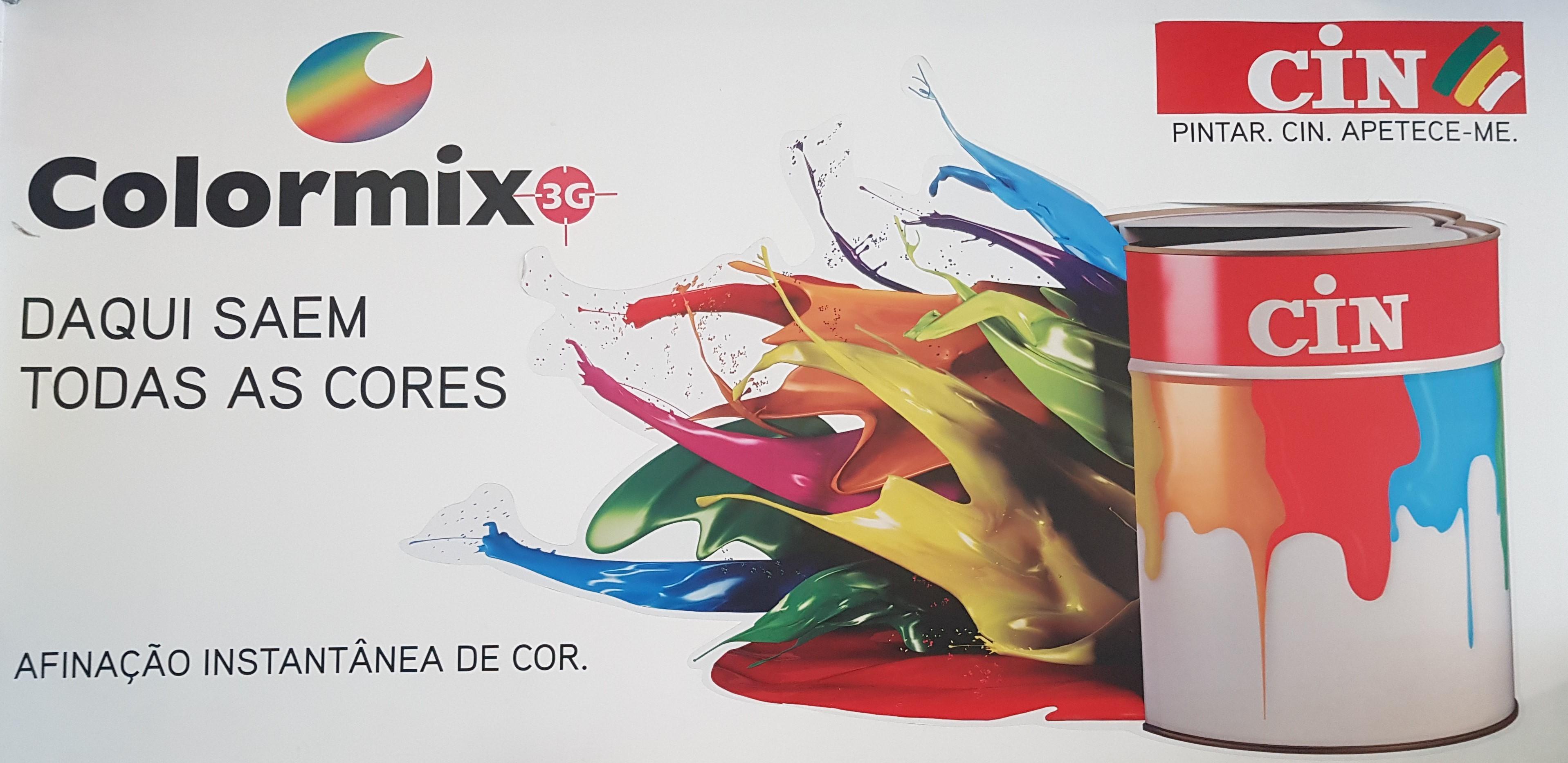 Colormix 3G Cin - Afinação instantânea de cor