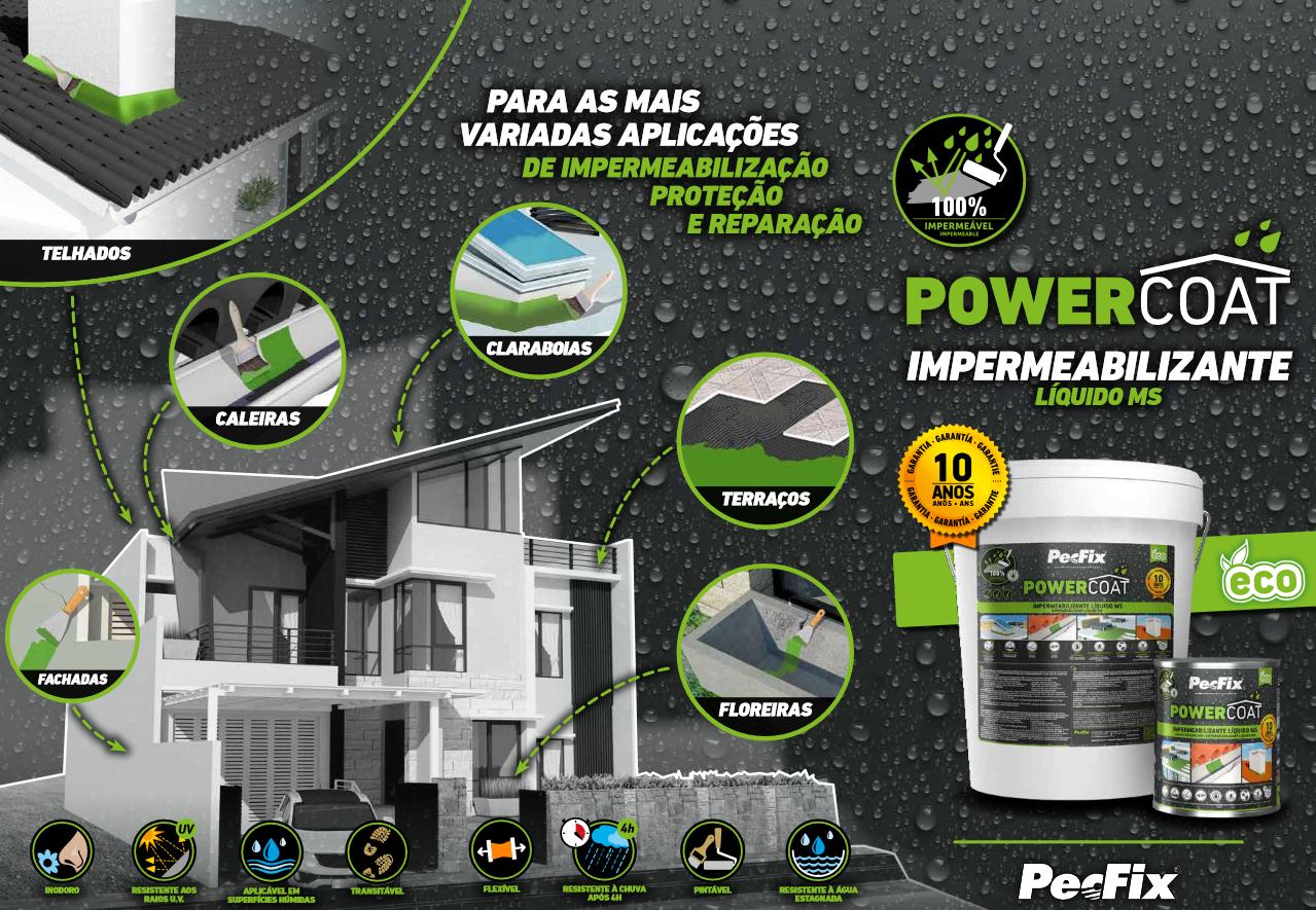 Impermeabilizante PowerCoat PECFIX 1KG