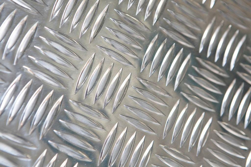 Chapa Xadrez Alumínio Anti-Derrapante